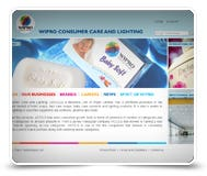 Wipro Consumer Care Website Design