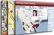 Google Maps Mashup Site