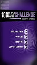100 Day Challenge android app
