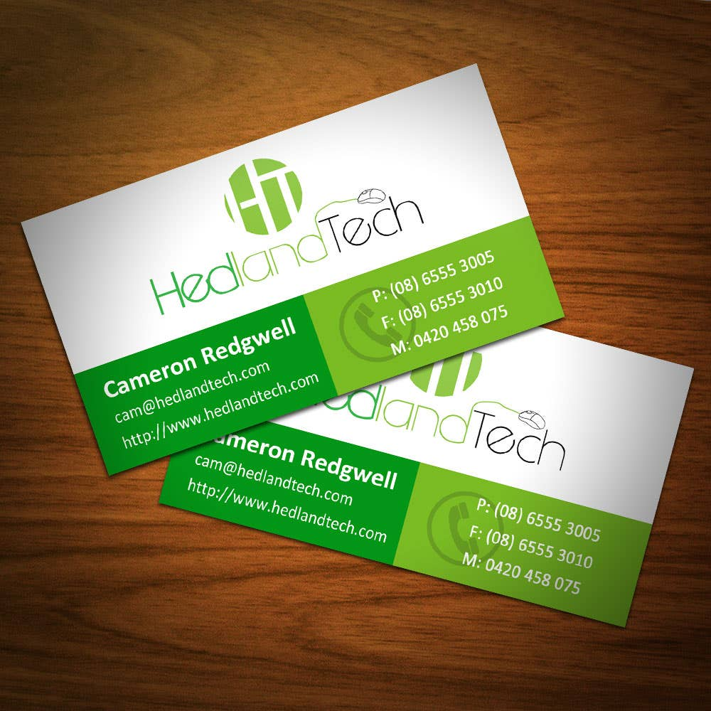 Hedland Tech Visiting Card