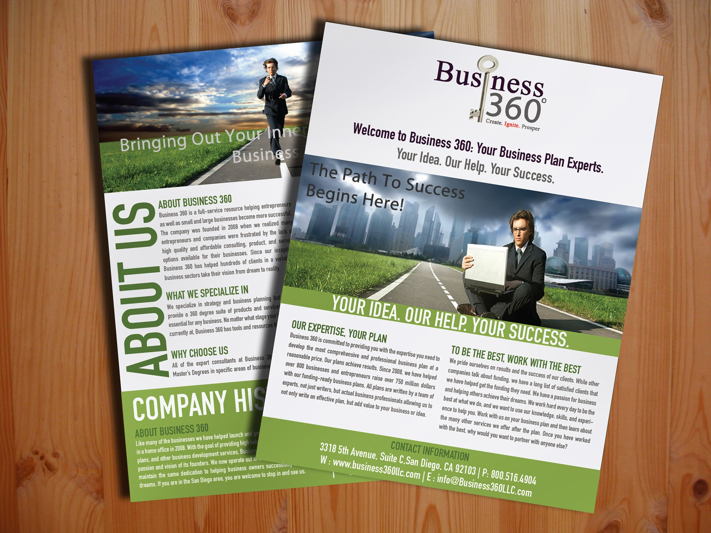 Brochure & Flyer Designs