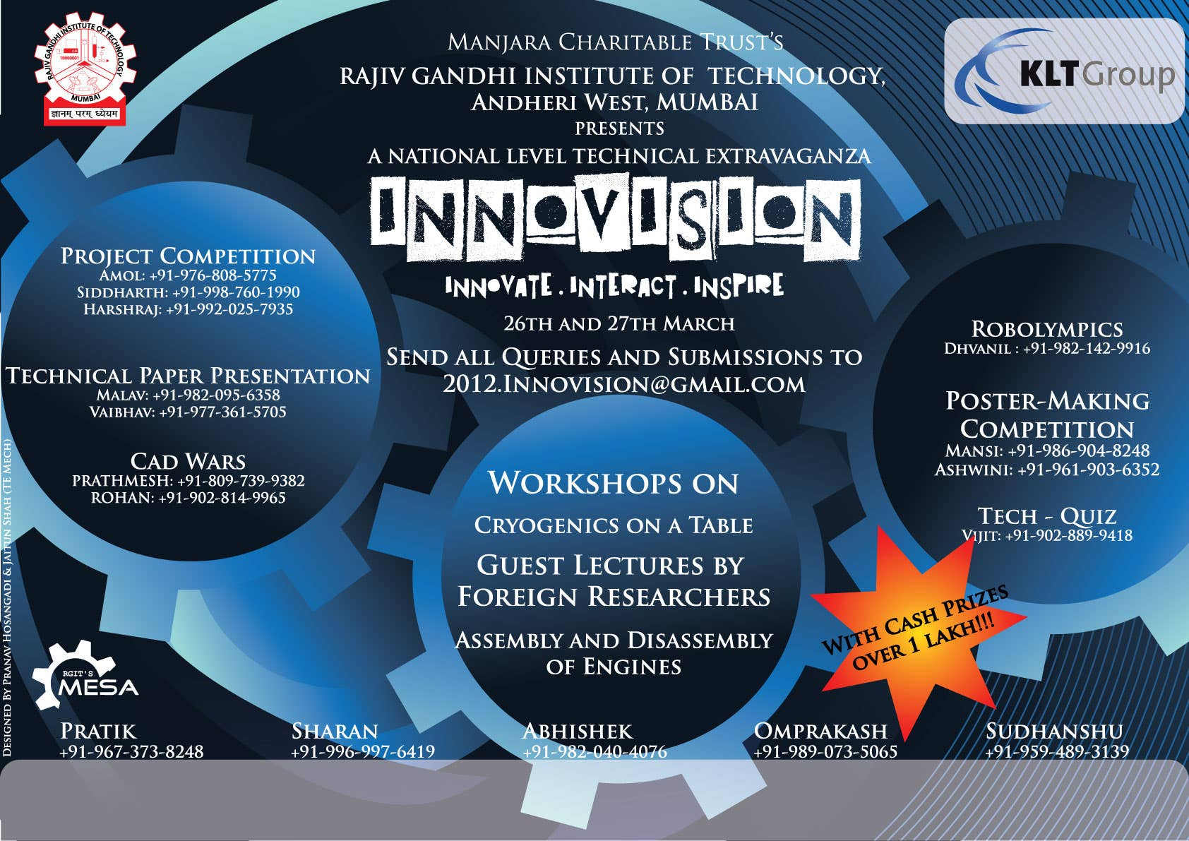 Poster Design for college competition