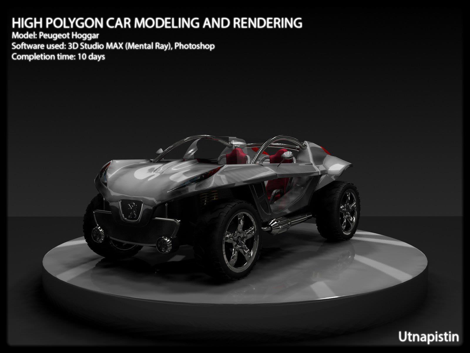 3D studio MAX work 1