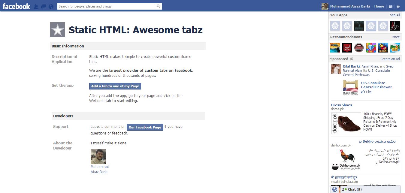 Awesome Tabz