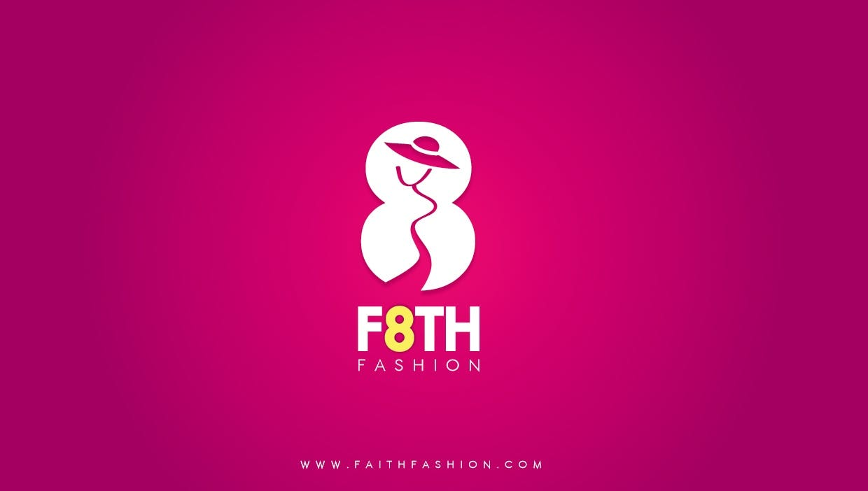 F8TH Logo design
