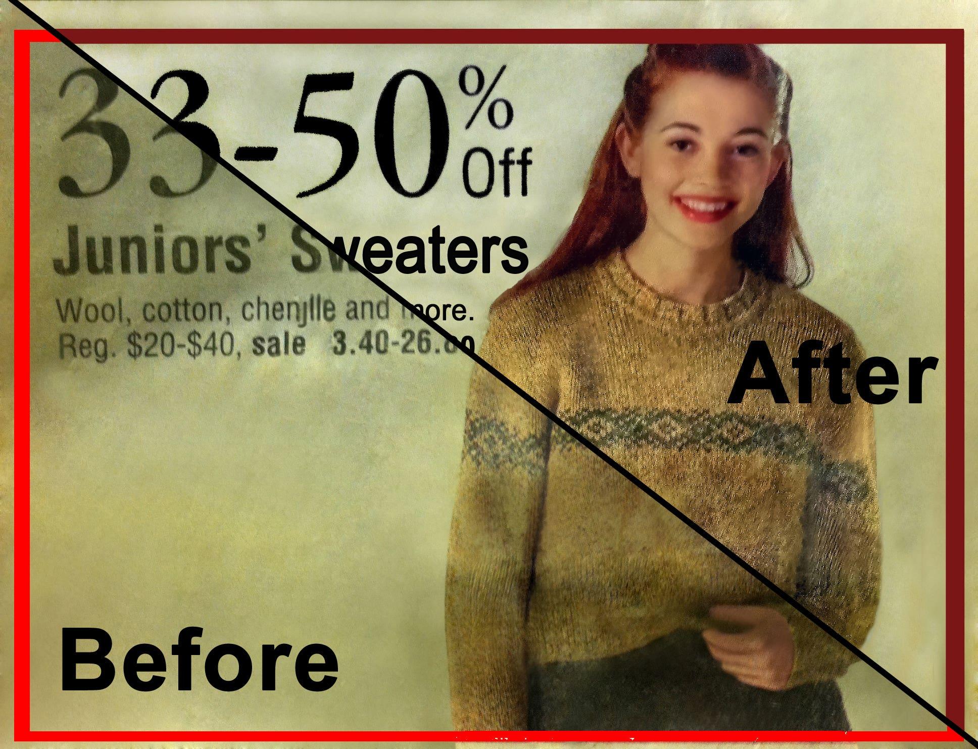 Print Ad Restoration