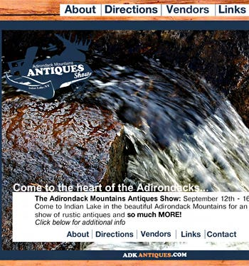Adirondack Mountains Antiques Show