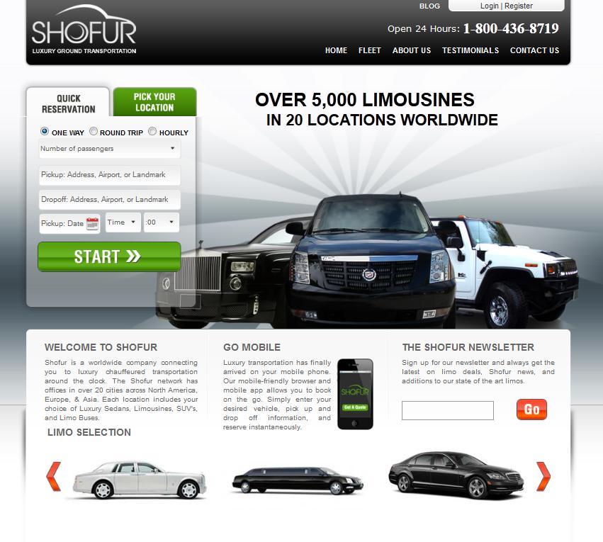 Shofur - Limo Service - Transport Company