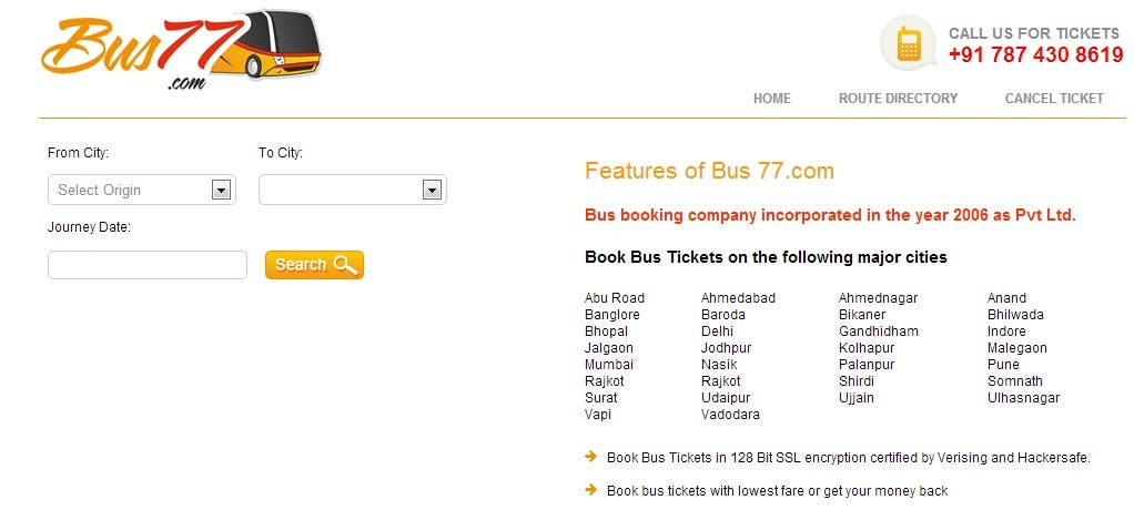www.bus77.com