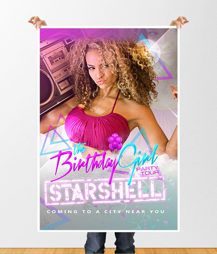 Starshell Marketing Poster