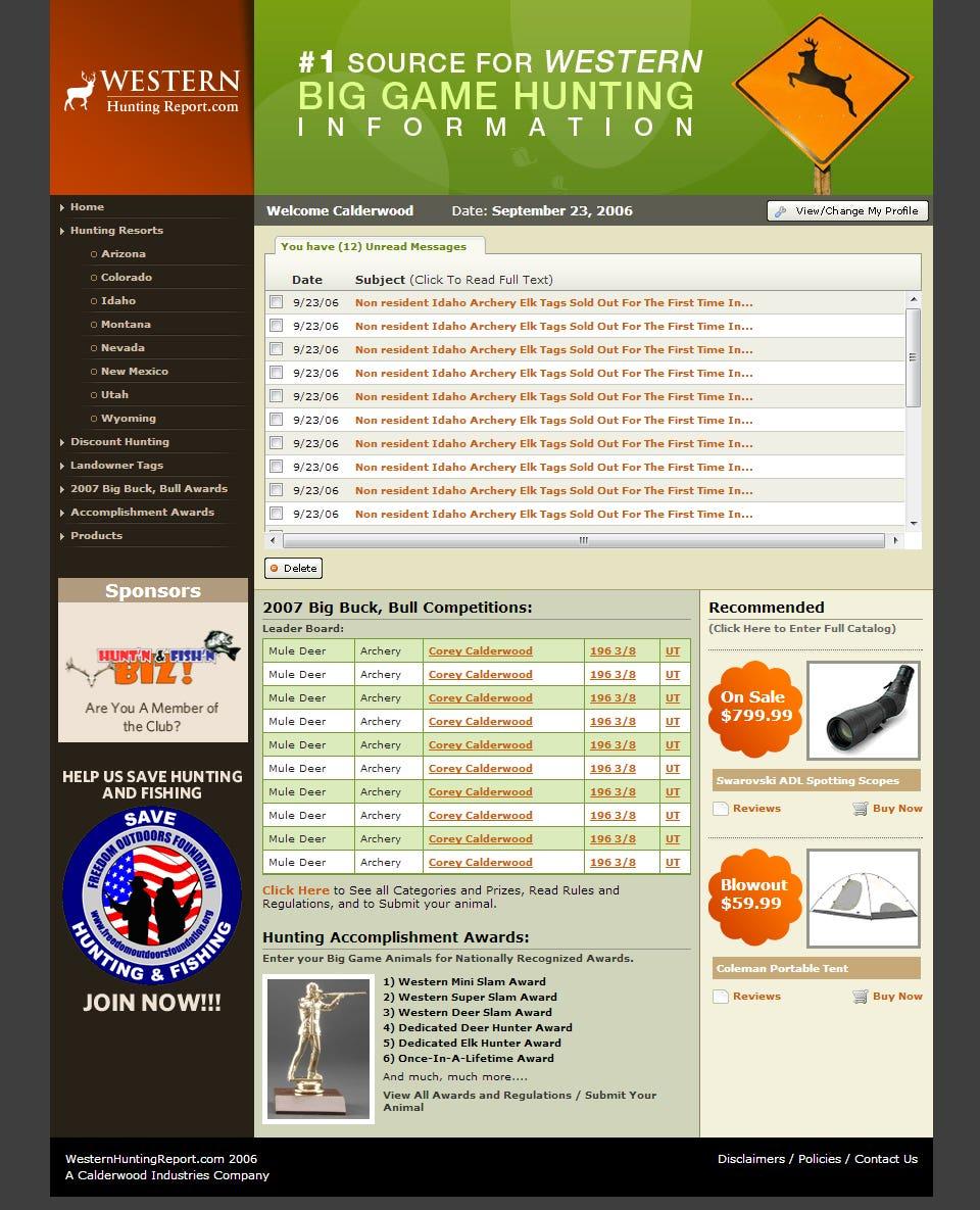 Template Design + HTML conversion