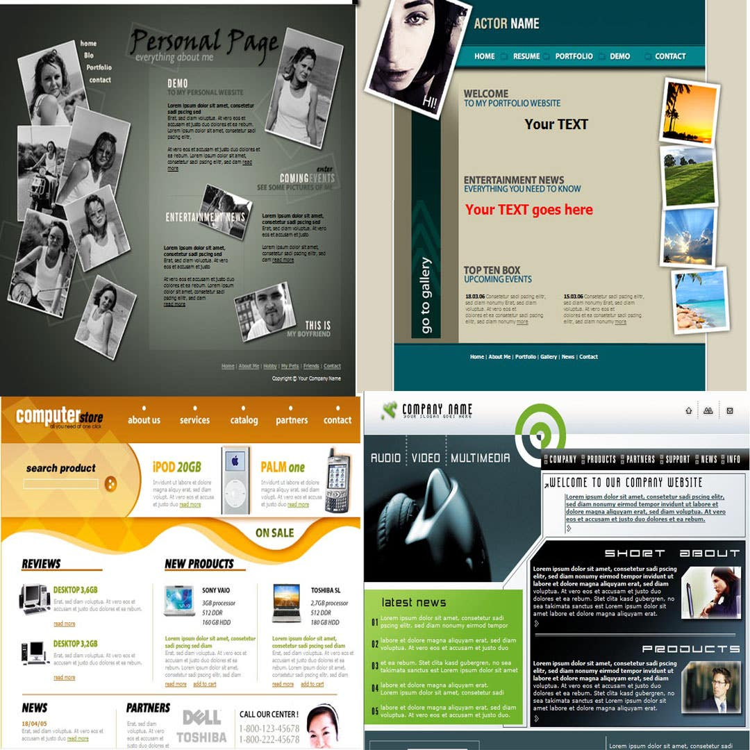 HTML email templates