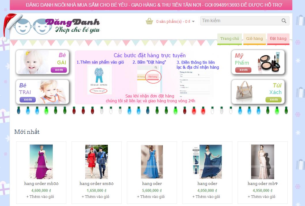 DangDanh Babies Store