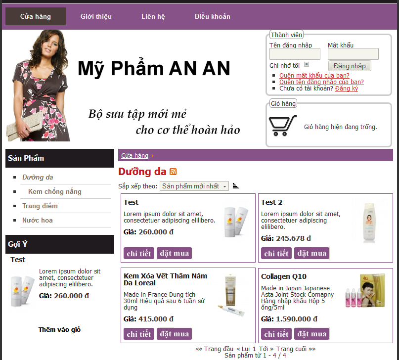 AnAn Cosmetics Store