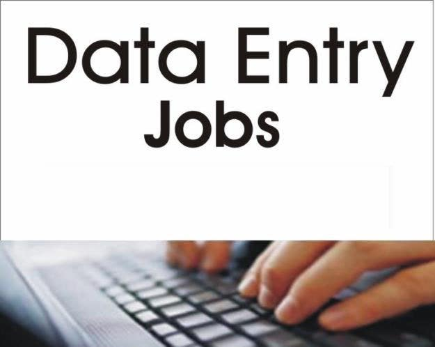 Data Entry, Data Processing