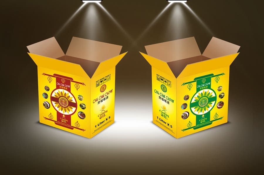 Chu Chin Chow Oil - Logo, Package and Box