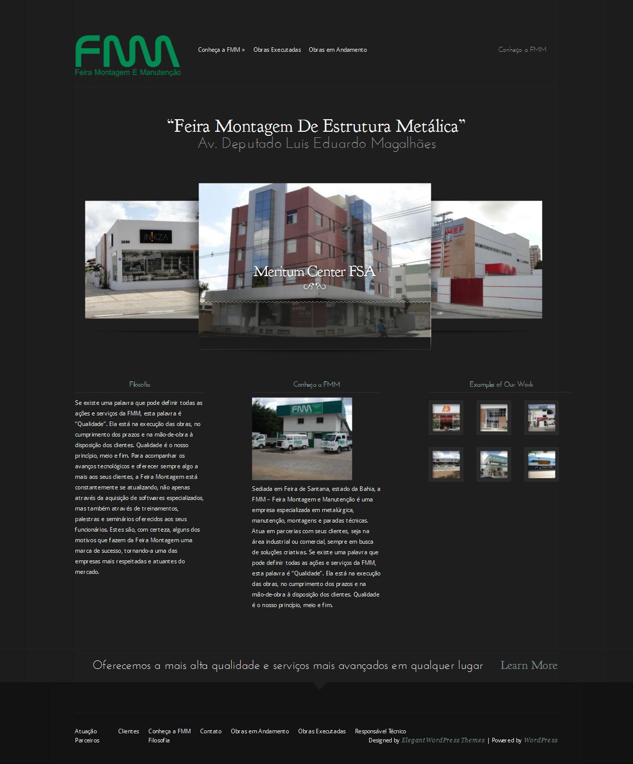 feiramontagem project in wordpress