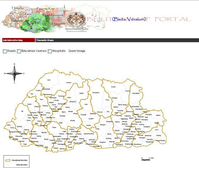Bhutan Mapping System