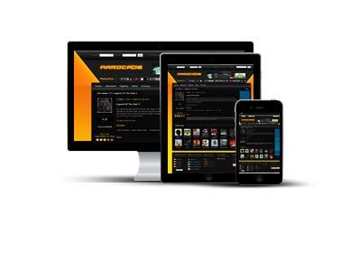 HARDCADE - Website