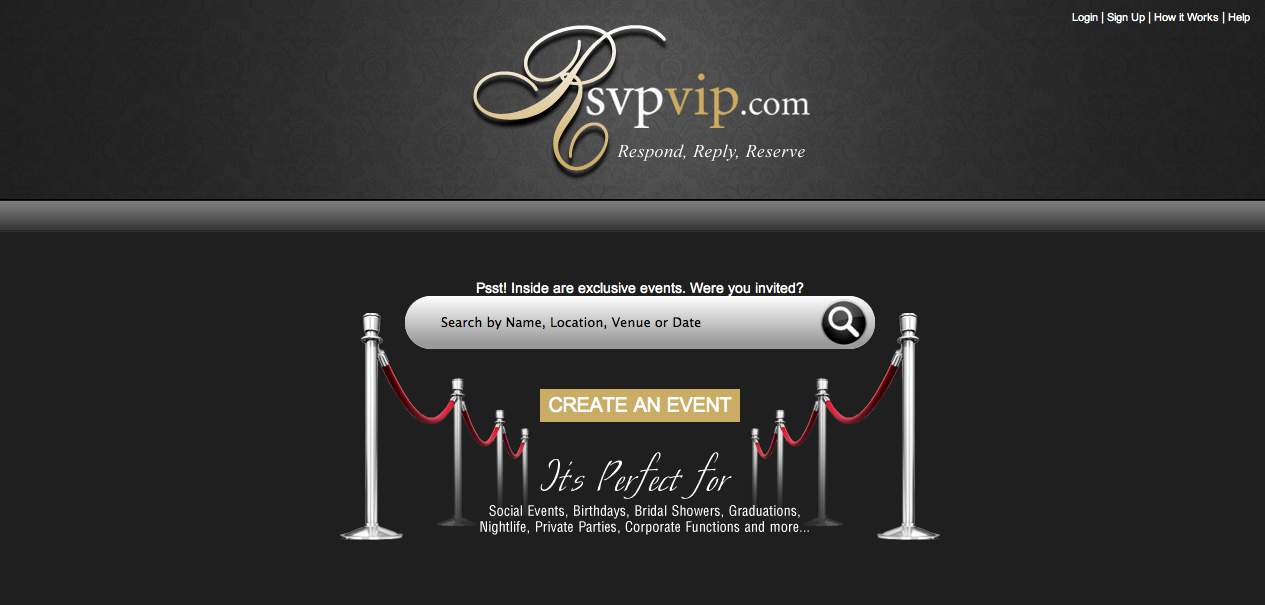 RsvpVip.com | Your Online Guestlist - Respond, Reply, Reserv