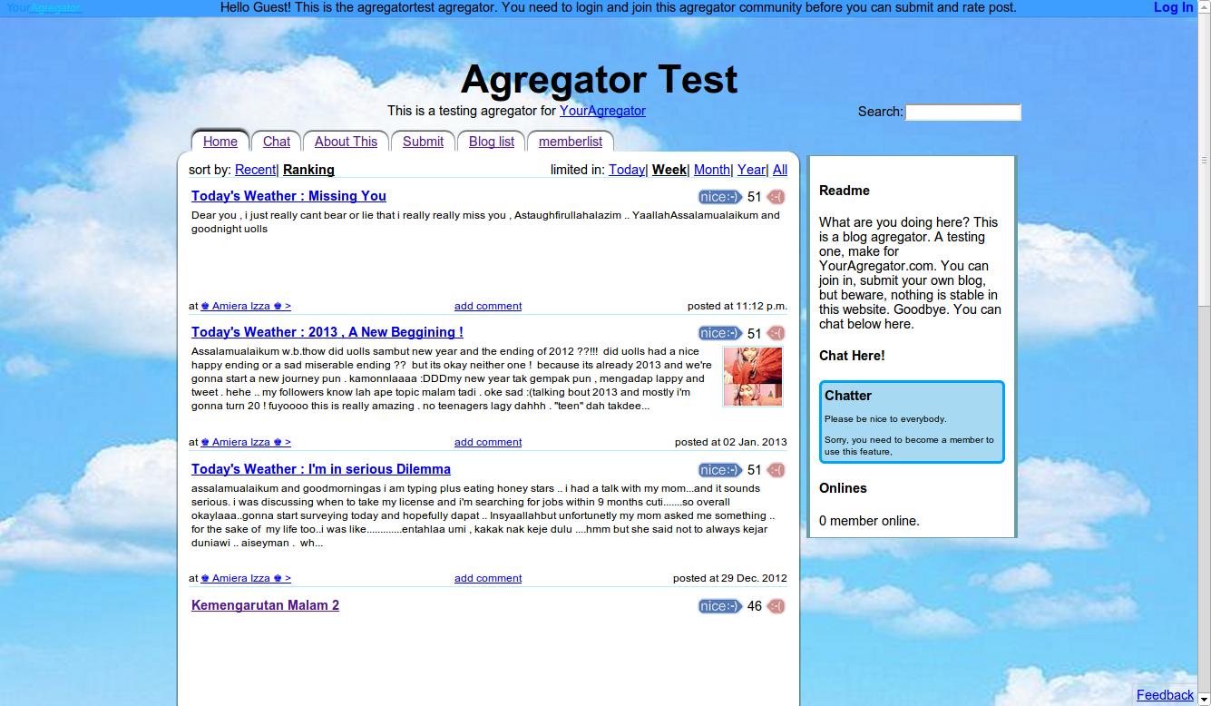 Your Agregator