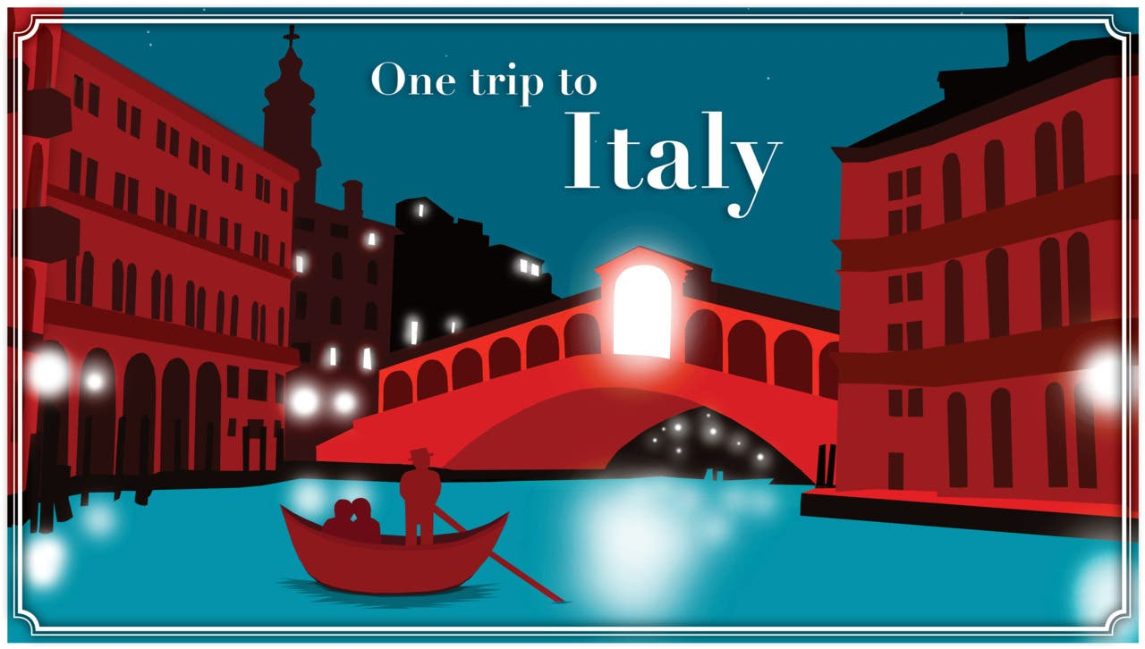 One Trip To Italy Coupon