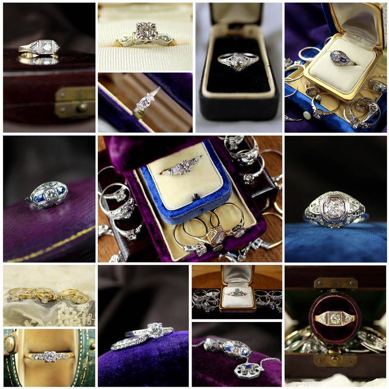 Vintage Ring Photoshoot