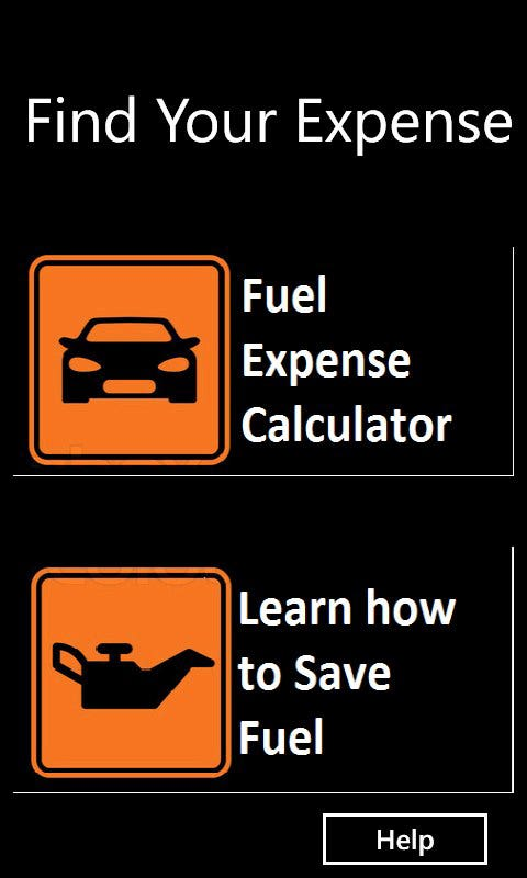 Fuel Expense Calculator