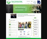 CMS Website for College