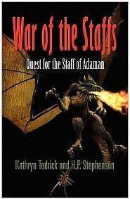 Fantasy Book - War of the Staffs