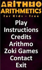 Android application (Arithmetics for Kids Free)