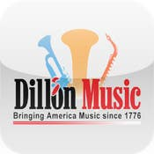 Dillon Music IPhone & Android Application