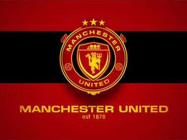 Win Logo Crest Manchester United