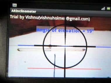 AR Inclinometer