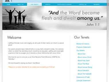Word Became Flesh Ministries (Religious Website)