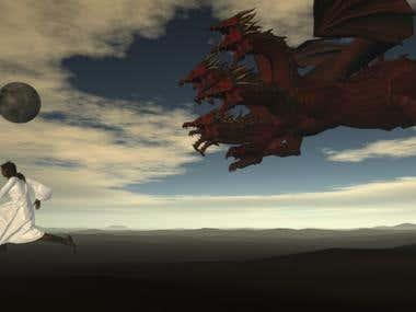 Woman and the Dragon