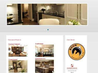 Euronova Kitchen (Website Design)