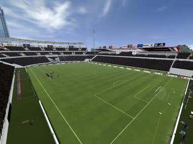 3D Design for FIFA14