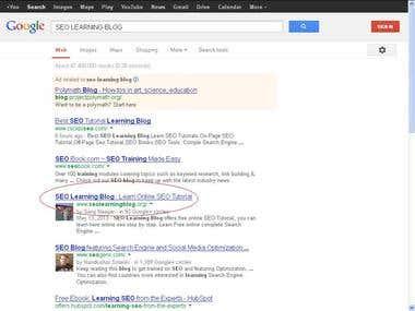Google Top 10 Ranking