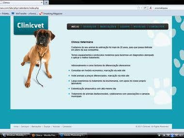 Web Project for a vet clinic