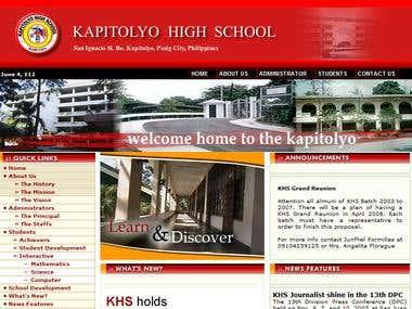 Webpage Design Sample 01