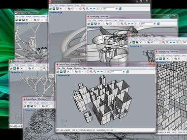 3D - extension scripts (Python/Rhino 3D)