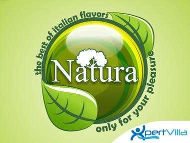 Logo design for Natura