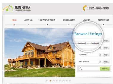 New Wordpress Property Developer Theme