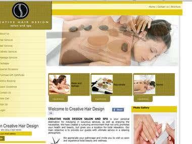 Creative hair design site