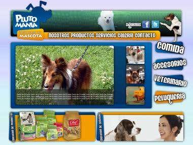 Plutomania Web Site