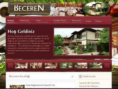 becerenrestaurant website