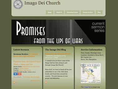 Imago Dei Church website
