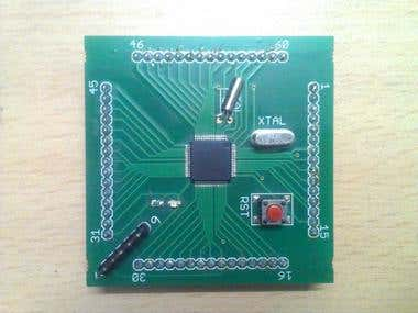 ARM 7 (LPC 2148) Development Board