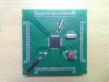 ARM 7 (LPC 2148) Development Board